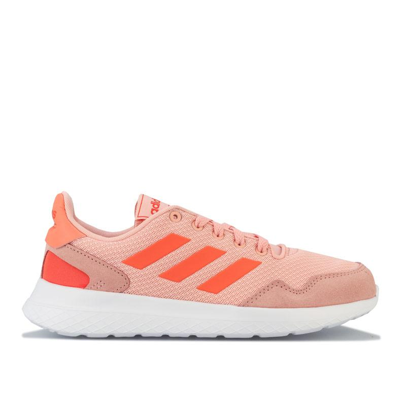 Adidas Womens Archivo Running Shoes Pink