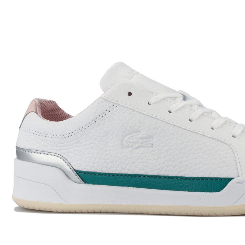 Lacoste Womens Challenge 120 3 Trainers White