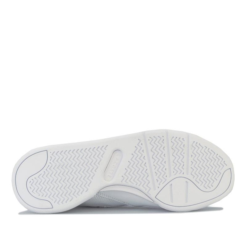Lacoste Womens Court Slam 120 1 Trainers White
