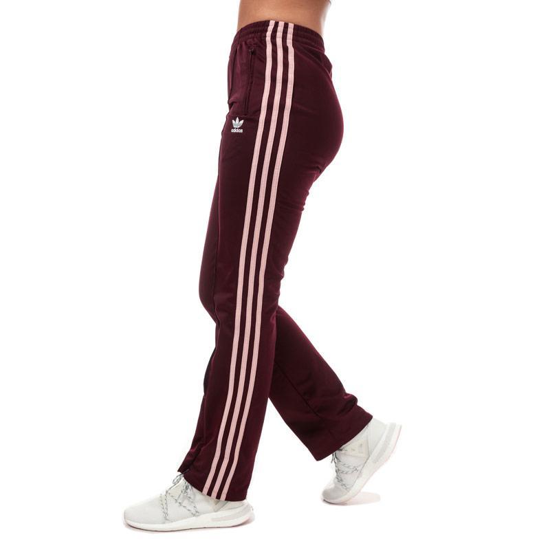Sportovní kalhoty Adidas Originals Womens Firebird Track Pants Burgundy