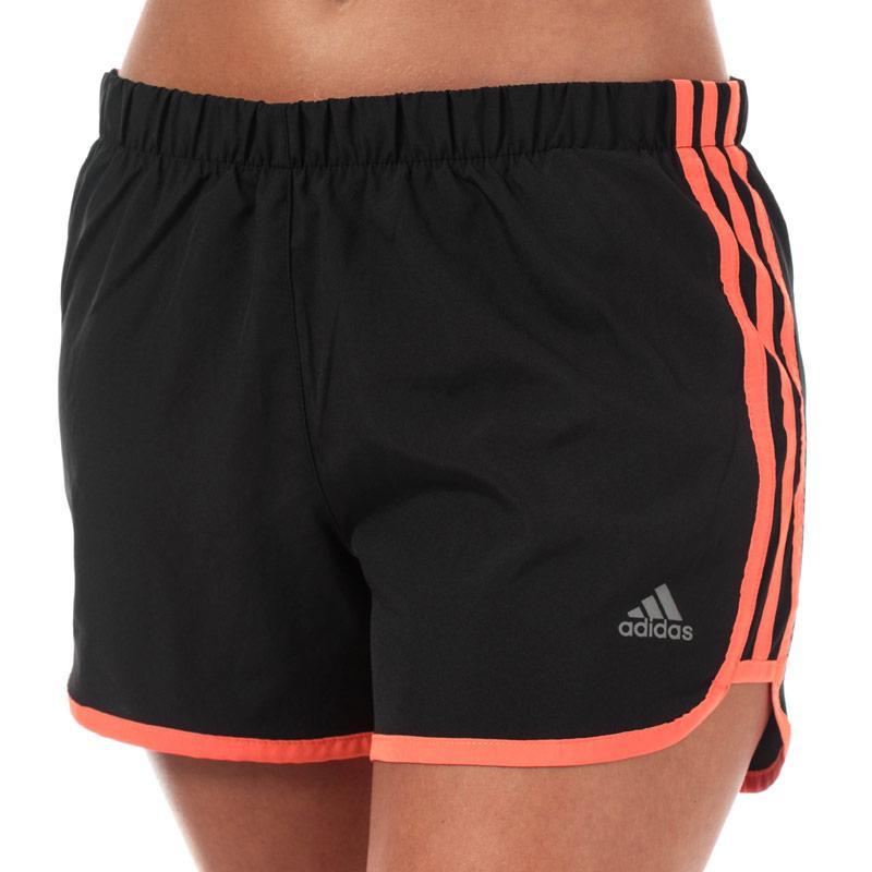 Adidas Womens Marathon 20 4 Inch Shorts Black