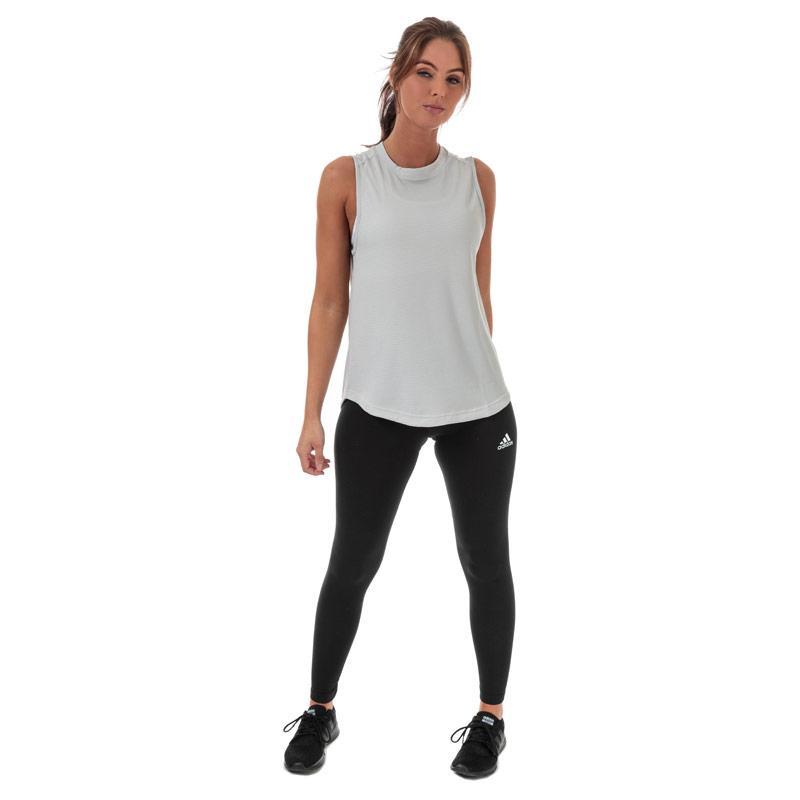 Adidas Womens Performance Tank Light Grey