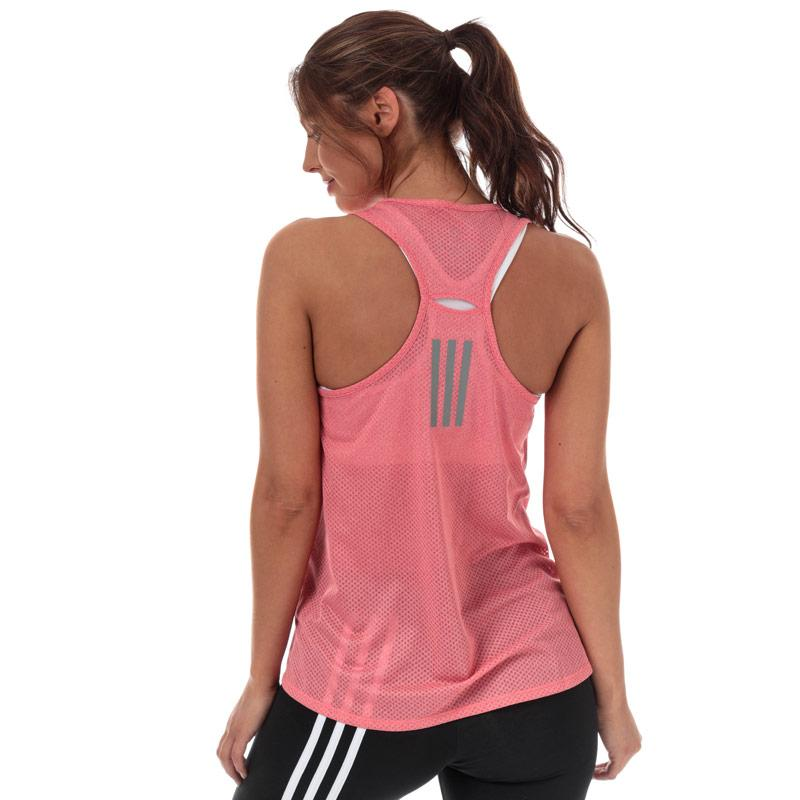 Adidas Womens Response Light Speed Tank Top Coral