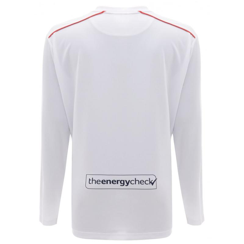 Castore Rangers Away Long Sleeve Shirt 2020 2021 Junior White