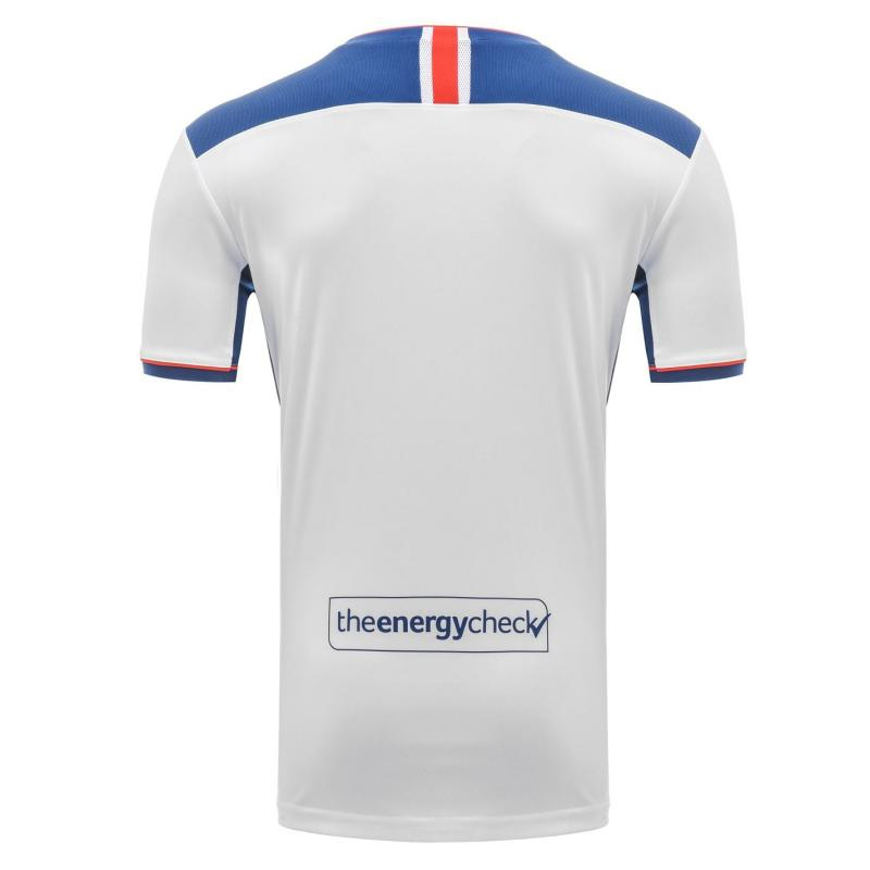 Castore Rangers Away Shirt 2020 2021 Junior White