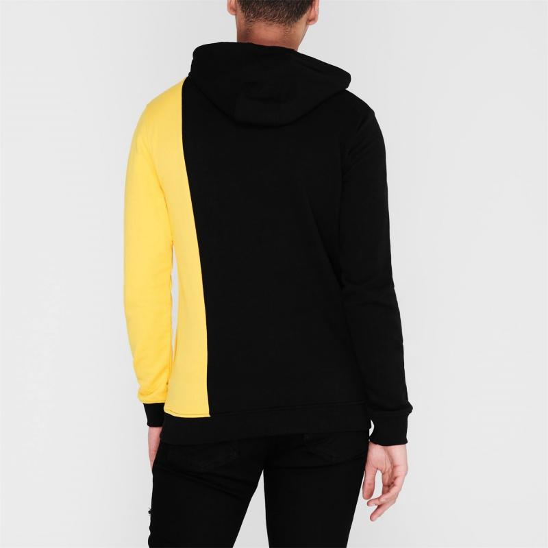 Mikina DC Studley Hoodie Black/Yellow