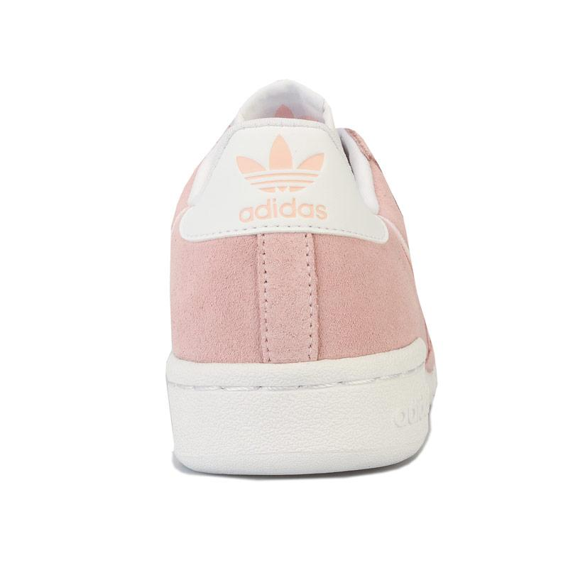 Adidas Originals Junior Girls Continental 80 Trainers Pink