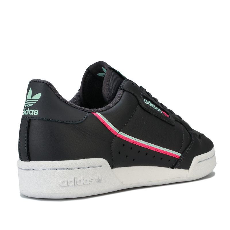 Adidas Originals Mens Continental 80 Trainers Black