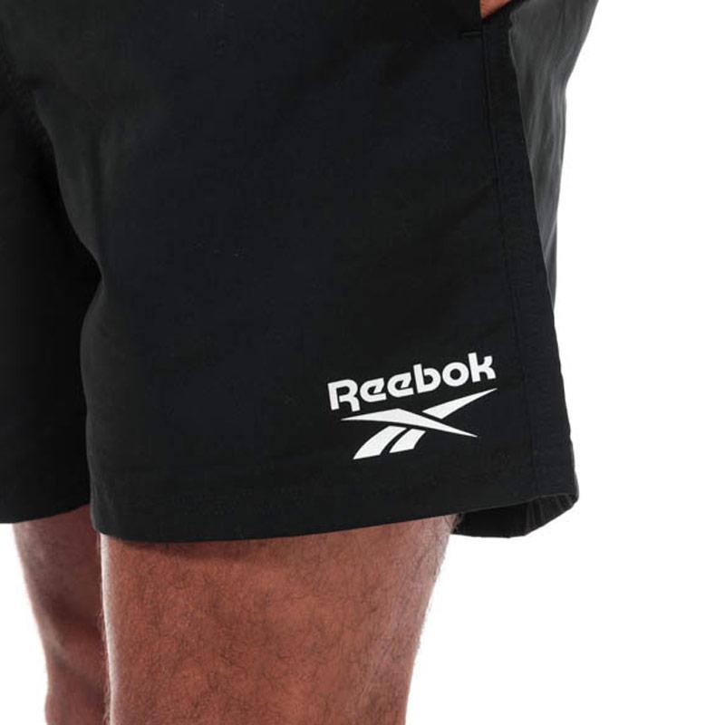 Reebok Mens Logo Swim Short Black