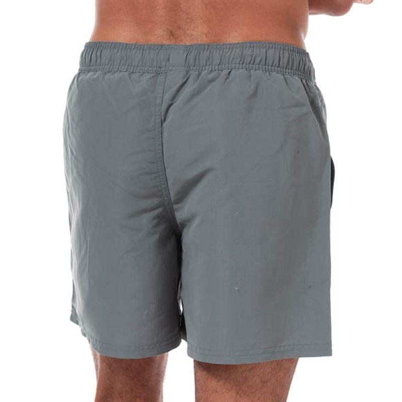 Reebok Mens Logo Swim Short Grey