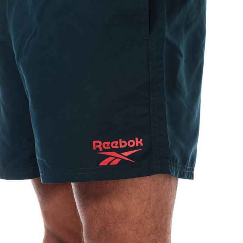 Reebok Mens Logo Swim Short Navy