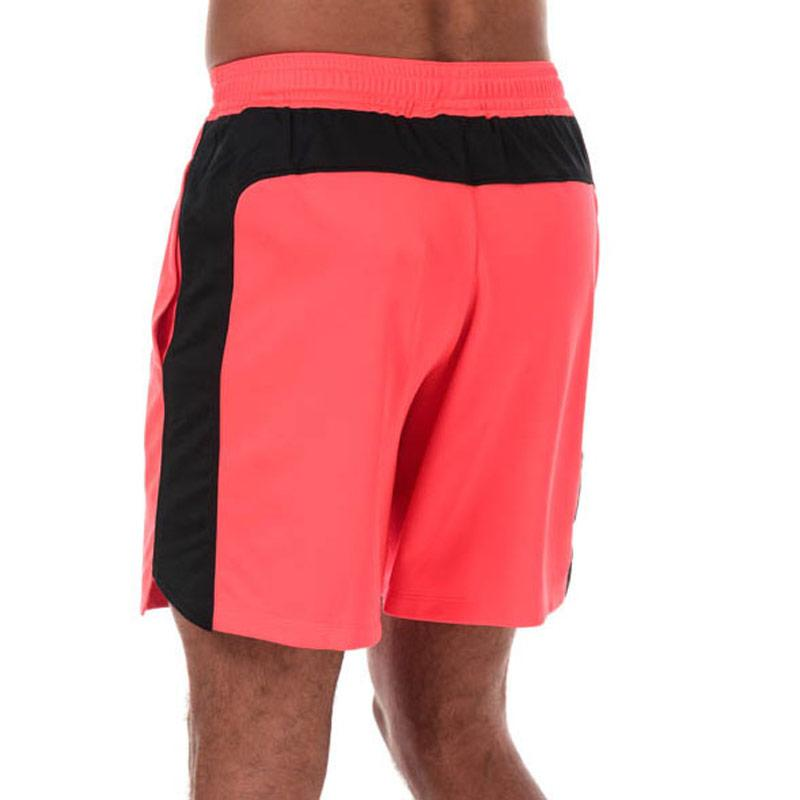 Under Armour Mens MK1 7in Graphic Shorts Red