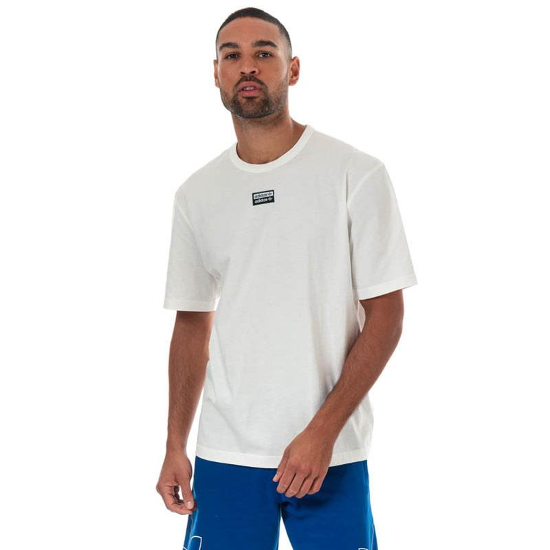 Tričko Adidas Originals Mens R.Y.V. T-Shirt White