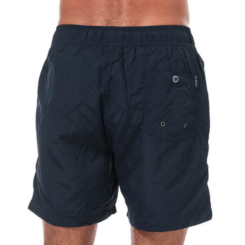 Ben Sherman Mens South Beach Swim Shorts Navy