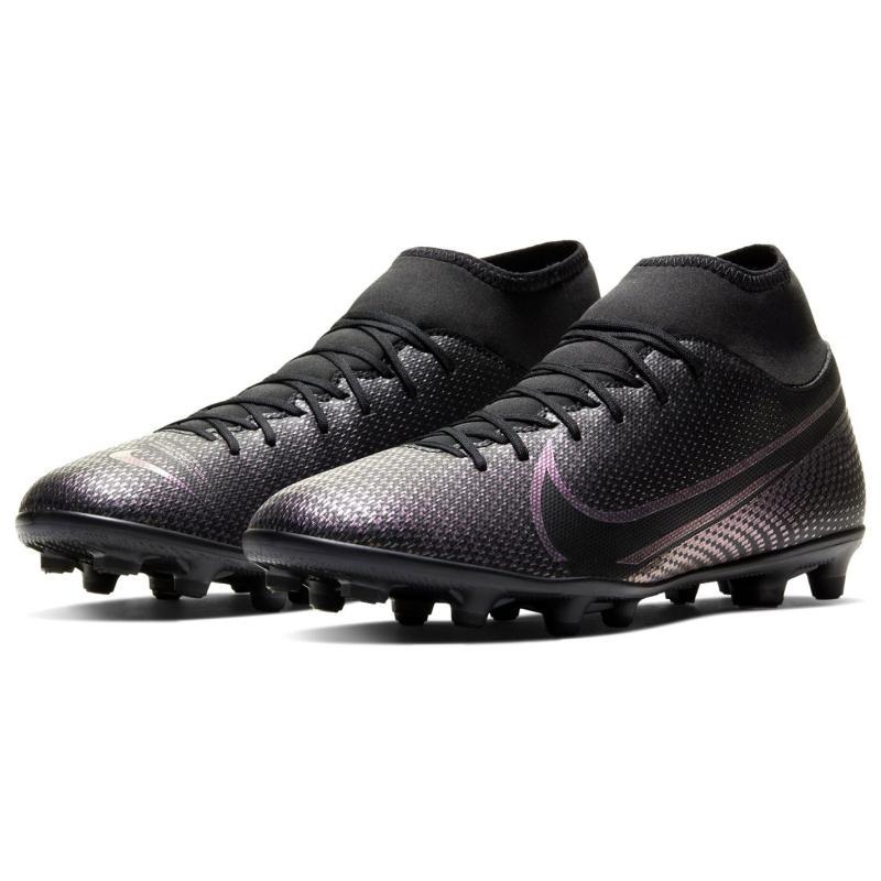 Nike Mercurial Superfly Club DF Mens FG Football Boots Black/Black