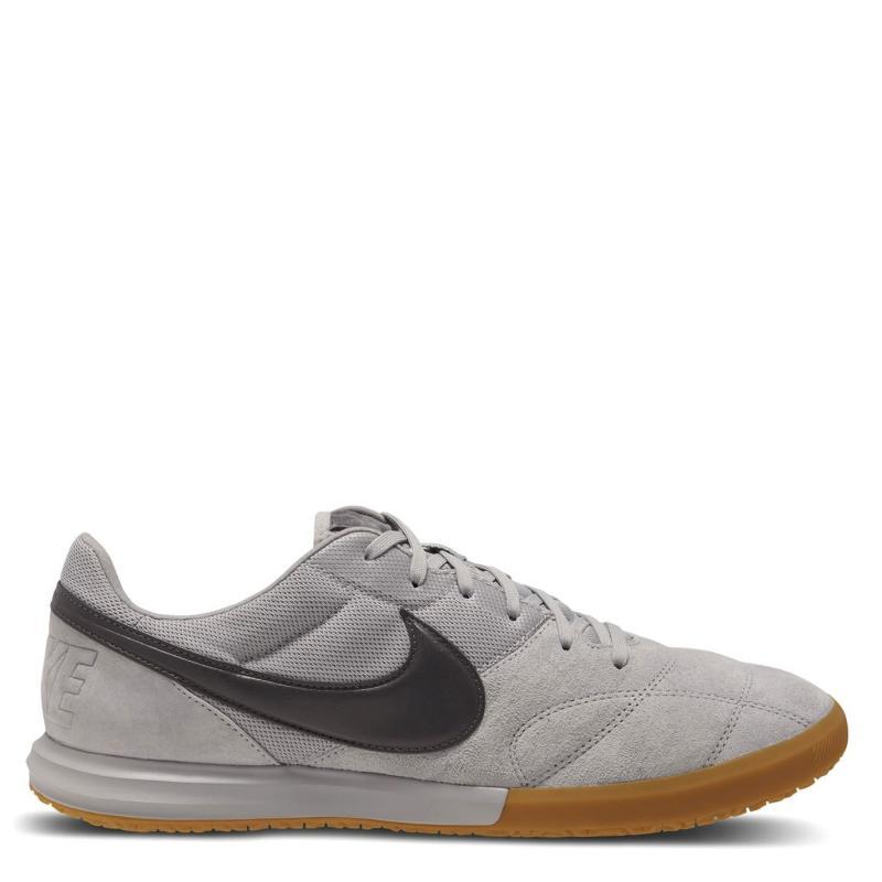 Nike Premium 2 Sala Indoor Football Boots Mens Grey/Grey