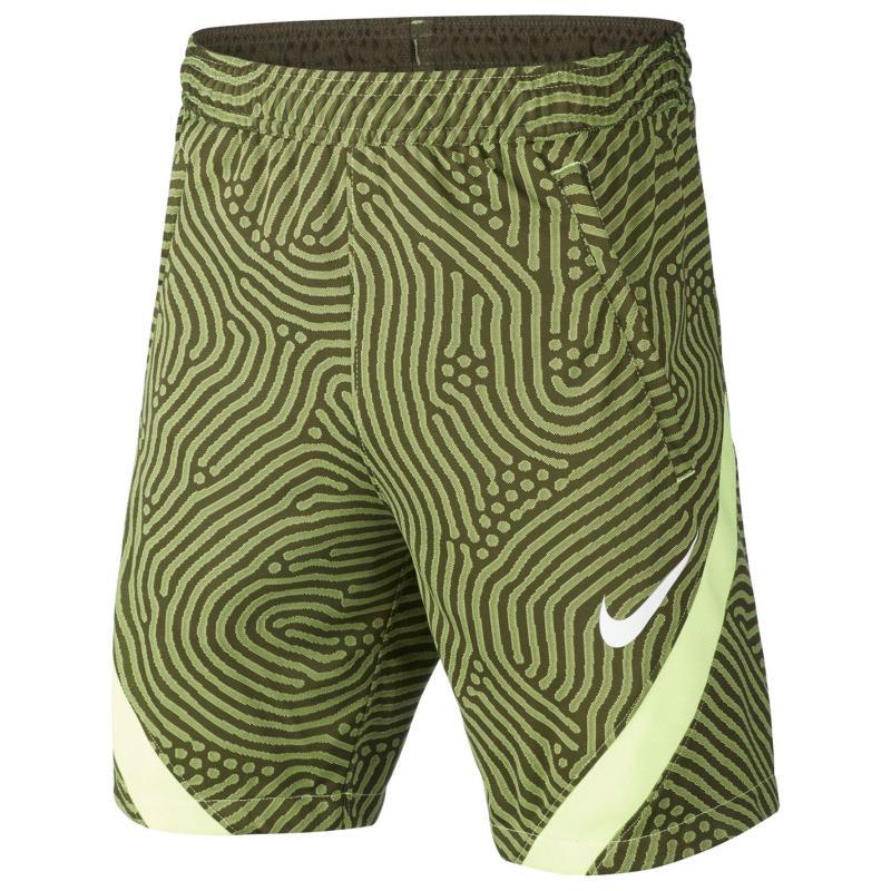 Kraťasy Nike Strike Shorts Junior Boys Khaki/White