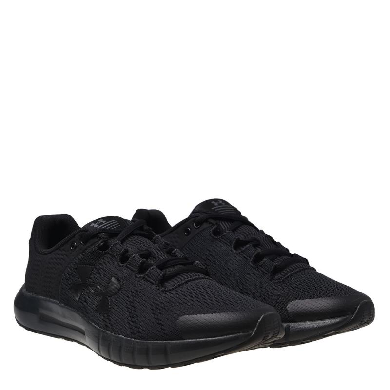 Under Armour Pursuit BP Junior Trainers Triple Black