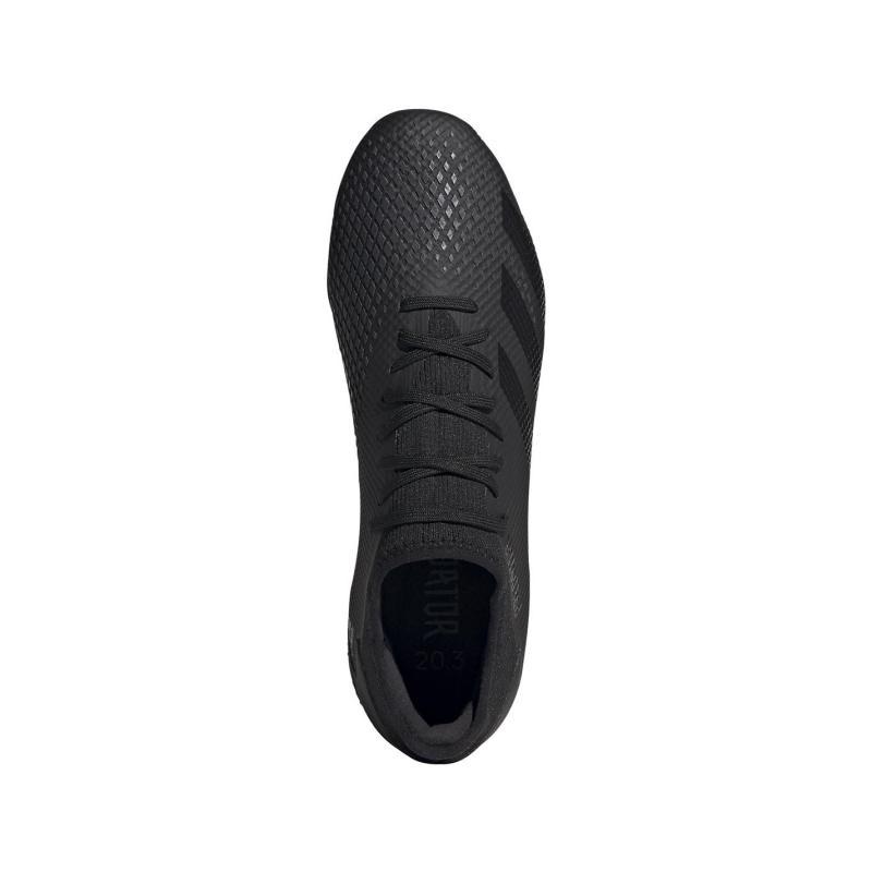 Adidas Predator 20.3 Football Boots Firm Ground Black/Black