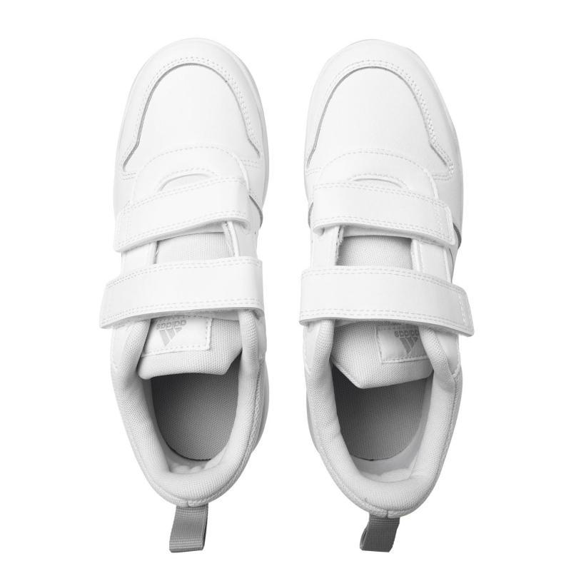 Boty adidas Tensaur C Junior Trainers TripleWhite