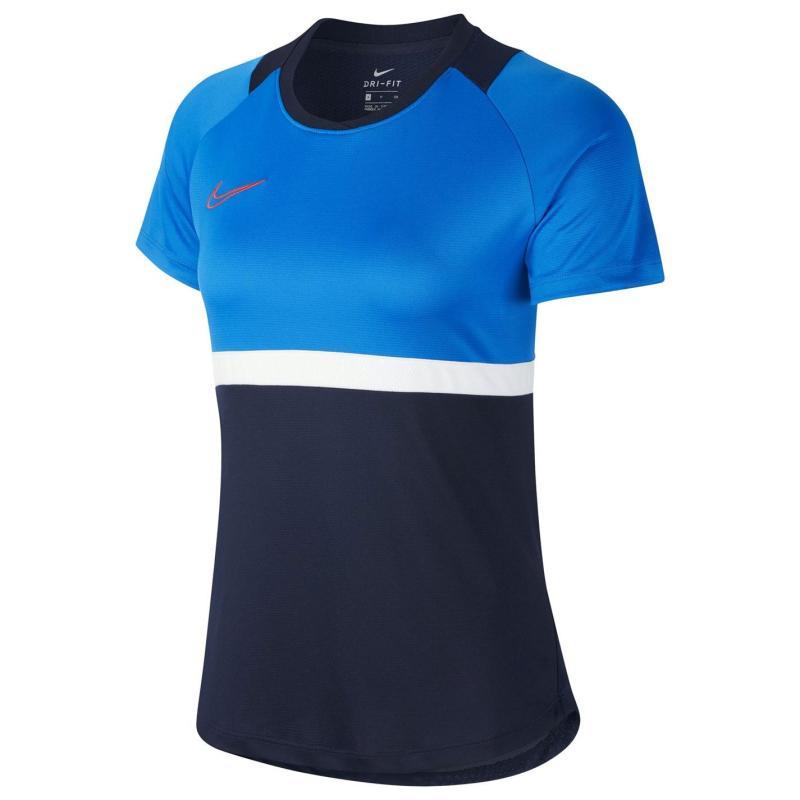 Nike Academy Pro T Shirt Ladies Blue/White