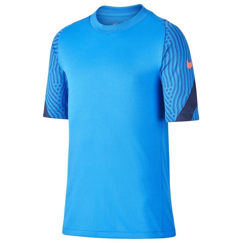 Tričko Nike Breathe Strike T Shirt Junior Boys Blue/Navy