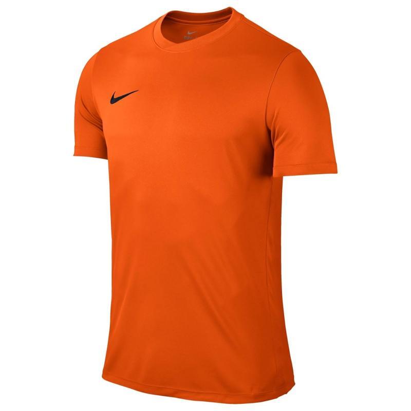 Tričko Nike Dry Football Top Mens Orange/Black