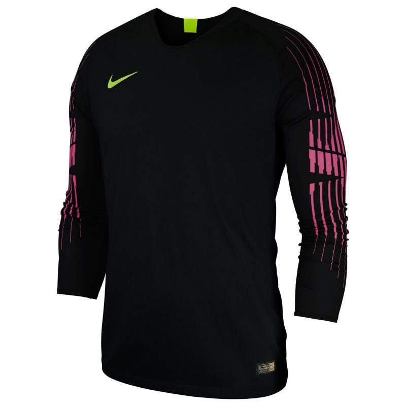 Tílko Nike Gardien II Long Sleeve Jersey Junior Boys Black/Yellow