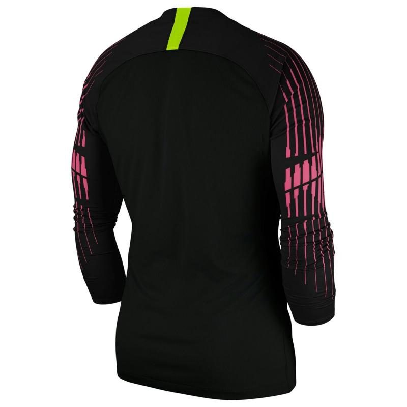 Nike Gardien II Long Sleeve Jersey Junior Boys Black/Yellow