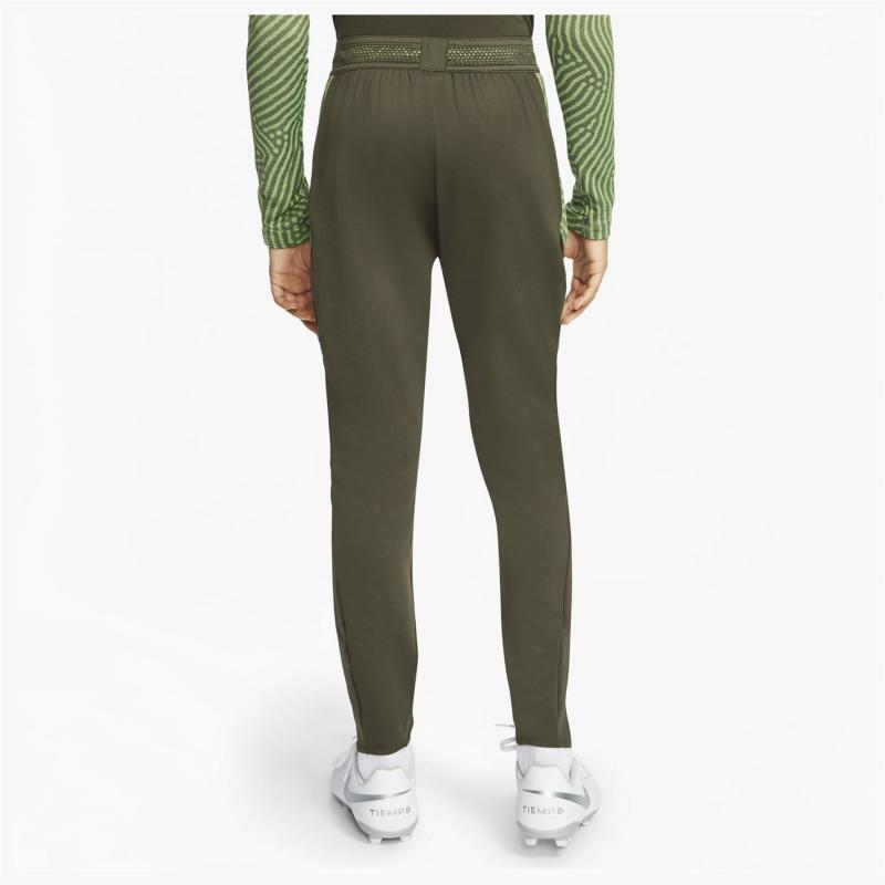 Tepláky Nike Strike Jogging Pants Junior Boys Khaki/White