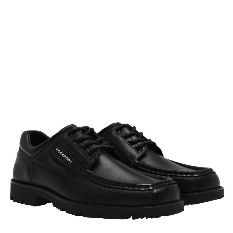 Rockport Moc Junior Boys Shoes Black