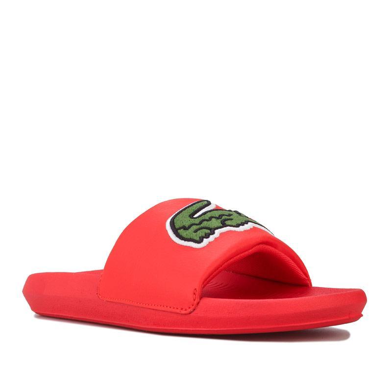 Boty Lacoste Womens 120 2 Croco Slide Orange green