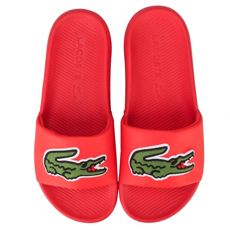 Boty Lacoste Womens 120 2 Croco Slide Orange green