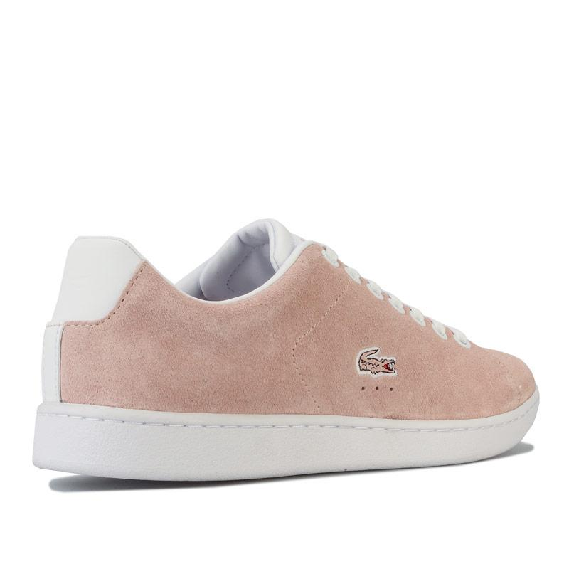 Lacoste Womens Carnaby EVO 120 Trainers Natural