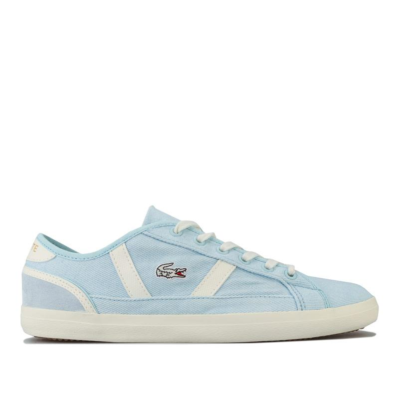 Lacoste Womens Sideline 120 1 Trainers Blue cream