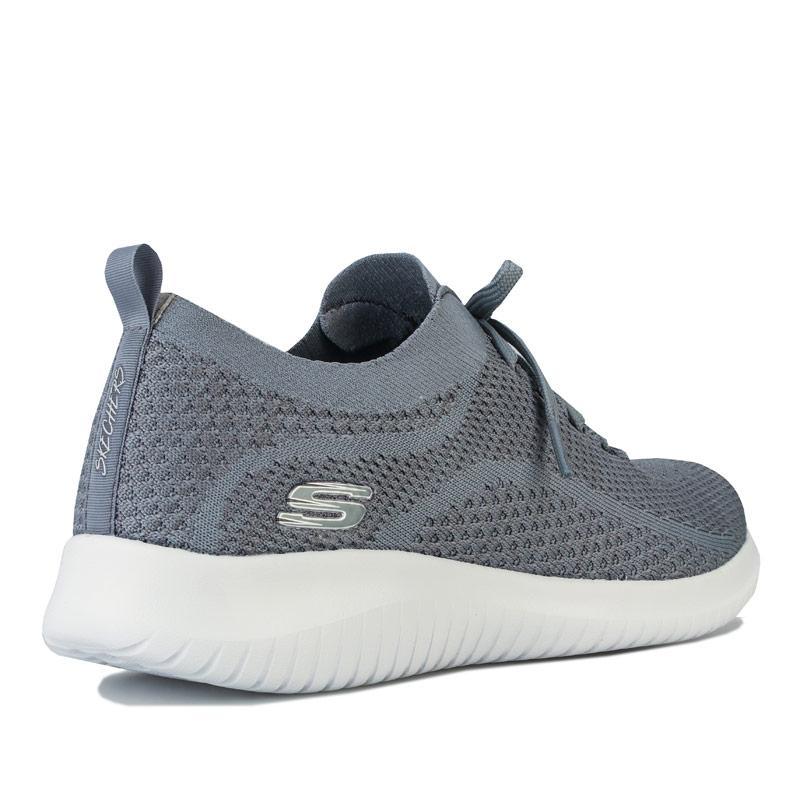 Skechers Womens Ultra Flex Statements Trainers grey slate