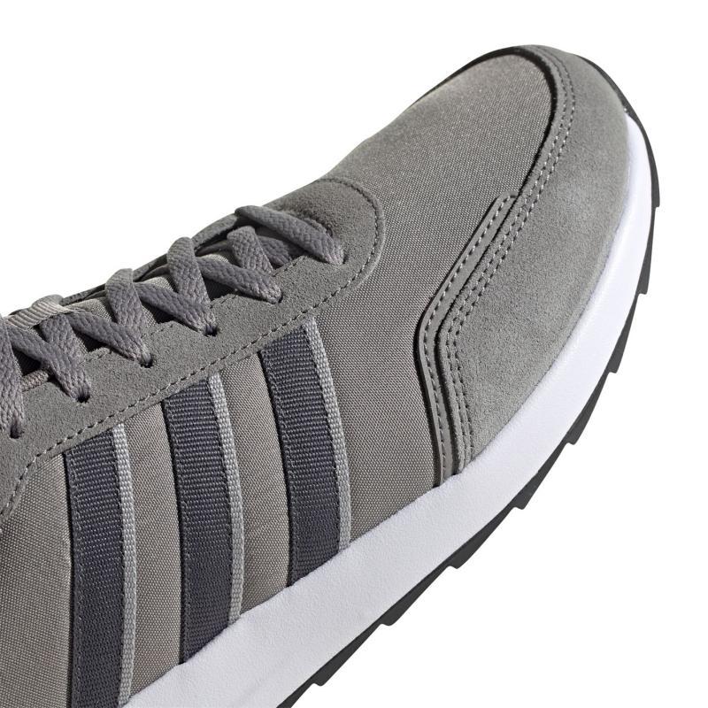 Adidas Retro Run Trainers Mens Grey/DkGrey/Wht