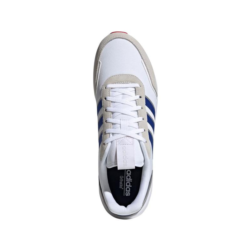 Adidas Retro Run Trainers Mens Wht/Blue/Red