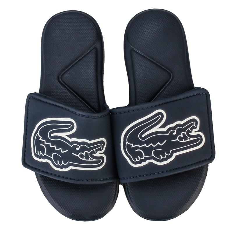 Boty Lacoste Children Boys L.30 Strap Sandals Navy-White