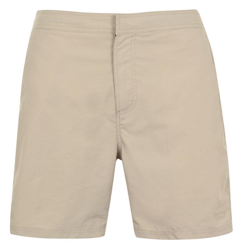 Plavky Firetrap Firetrap Blackseal Plain Swim Shorts Khaki