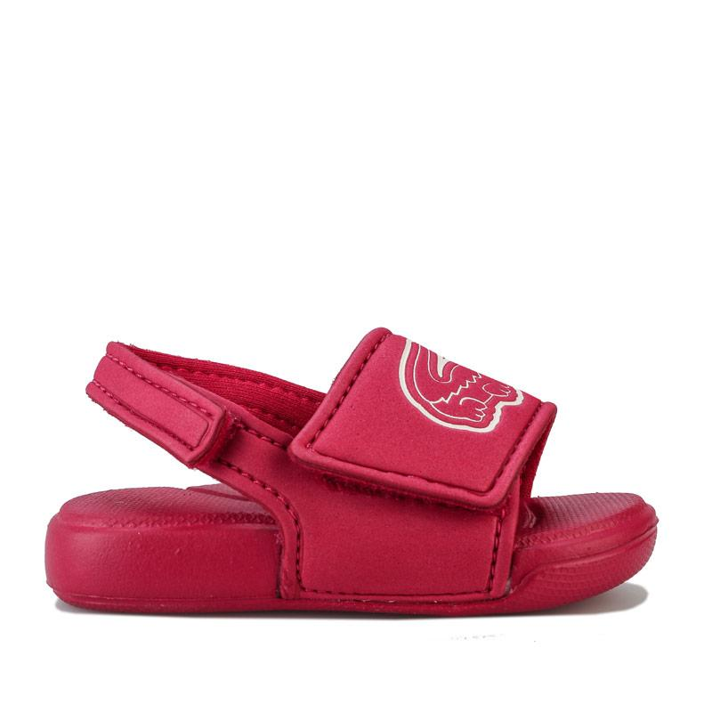 Lacoste Infant Girls L.30 Strap Sandals Pink