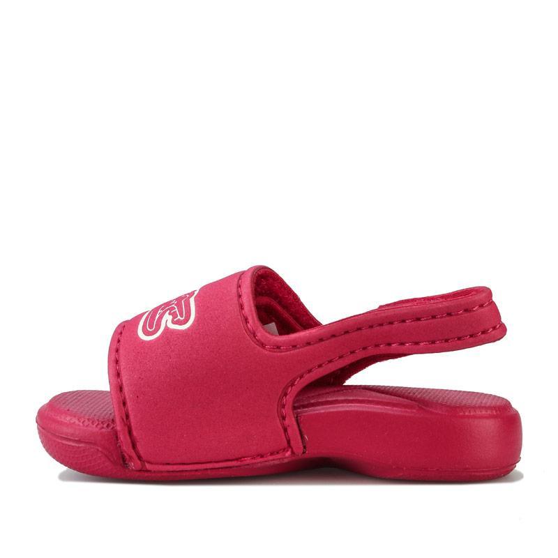 Lacoste Infant Girls L.30 Strap Sandals Pink