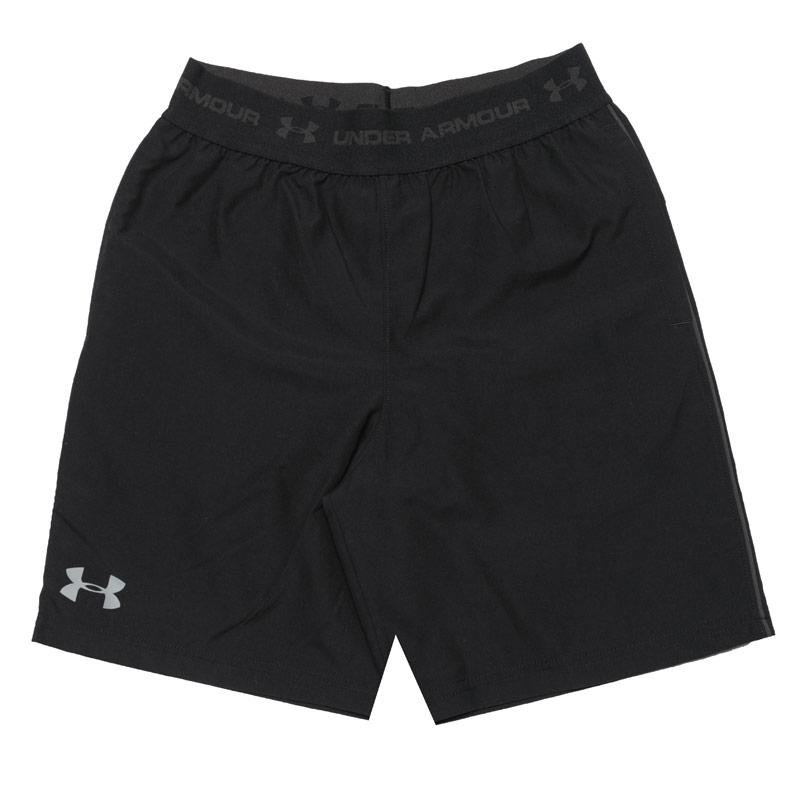 Kraťasy Under Armour Junior Boys JD Woven Shorts Black