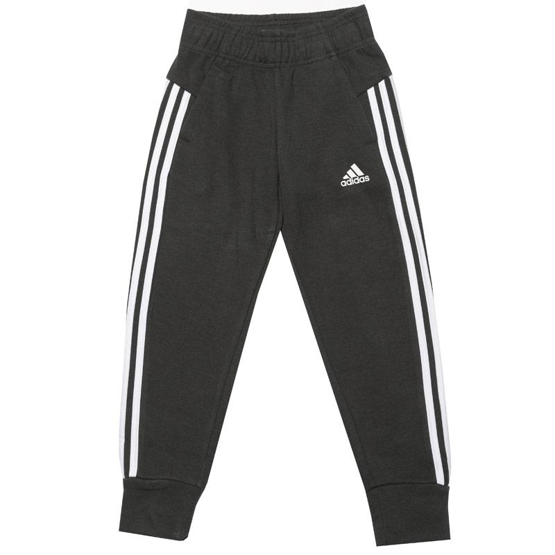 Adidas Junior Girls 3-Stripes Leggings olive