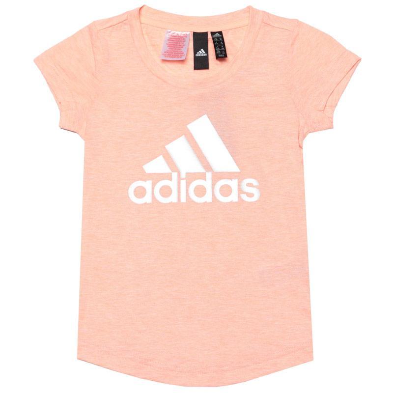 Adidas Junior Girls ID Winner T-Shirt Pink