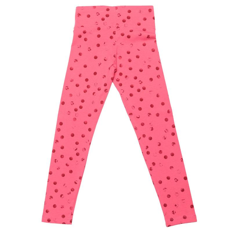 Adidas Junior Girls Must Haves Graphic Leggings Pink