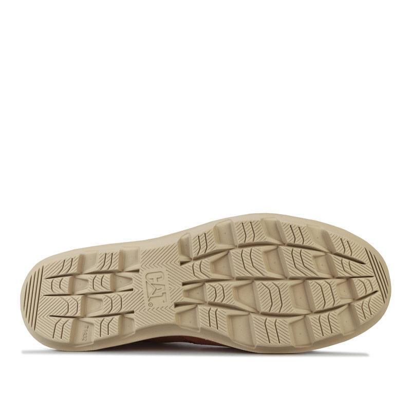 Boty Caterpillar Mens Brusk Lace Shoe Tan