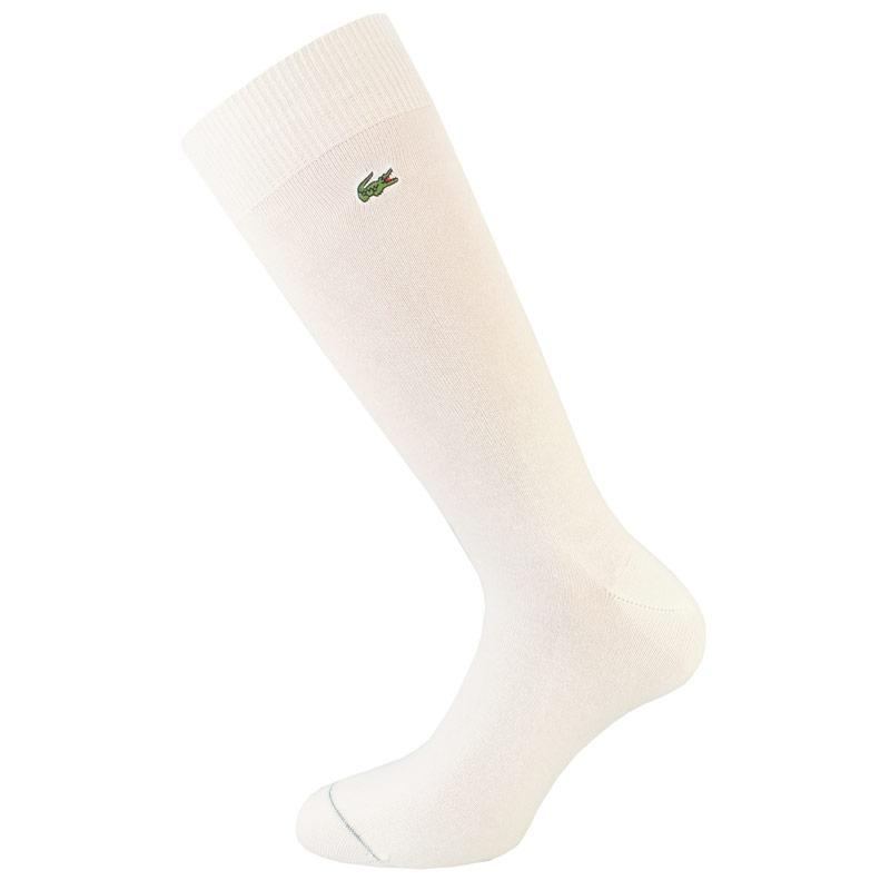 Ponožky Lacoste Mens Stretch Cotton Socks White