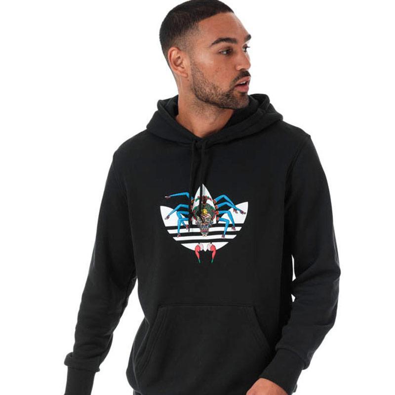 Mikina Adidas Originals Mens Tanaami Hoody Black