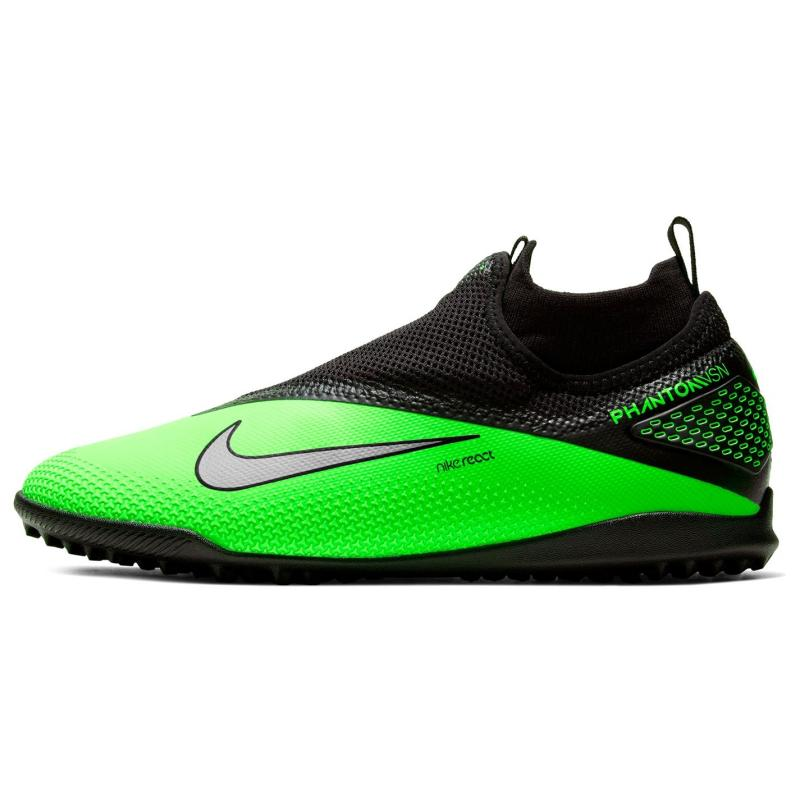 Nike React 2 Astro Turf Football Boots Mens Black/Green